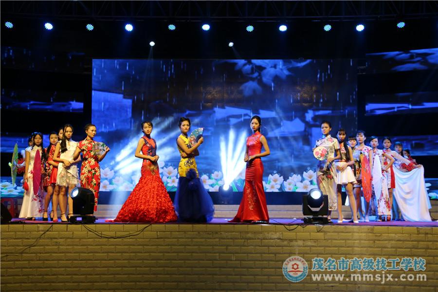 时装秀《旗袍》(表演:艺术教研组)