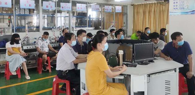 学校实习科组织召开实习教师防疫工作专题会议